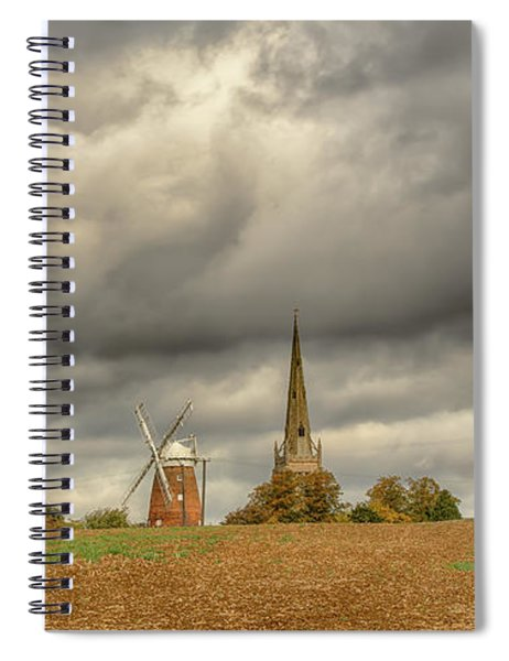 Thaxted - An English Countryside View Spiral Notebook