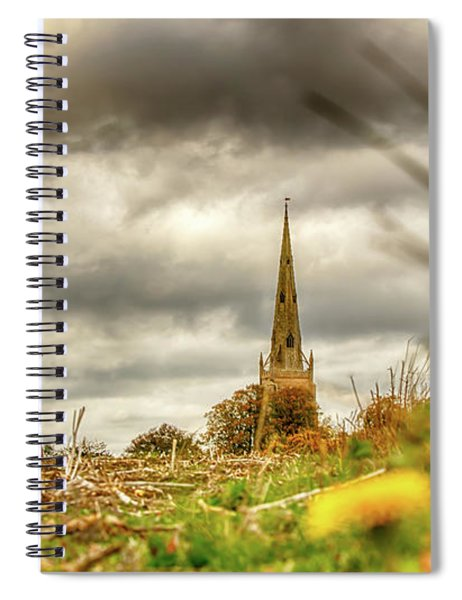 Thaxted Windmill And Church Spiral Notebook
