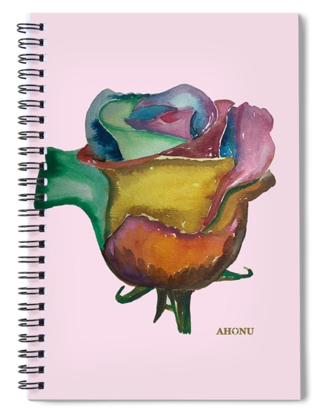 The 1111 Global Rose Spiral Notebook