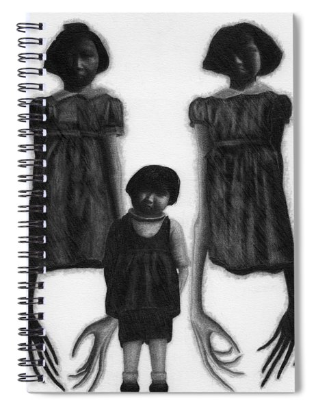 The Abberant Sisters - Artwork Spiral Notebook