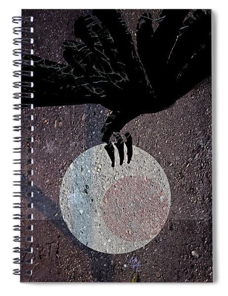 The Abduction Of The Moon Spiral Notebook