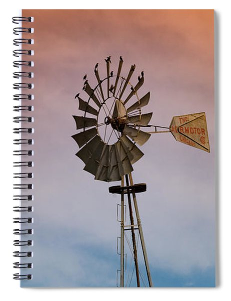 The Aermotor Chicago Co. By Mike-hope Spiral Notebook