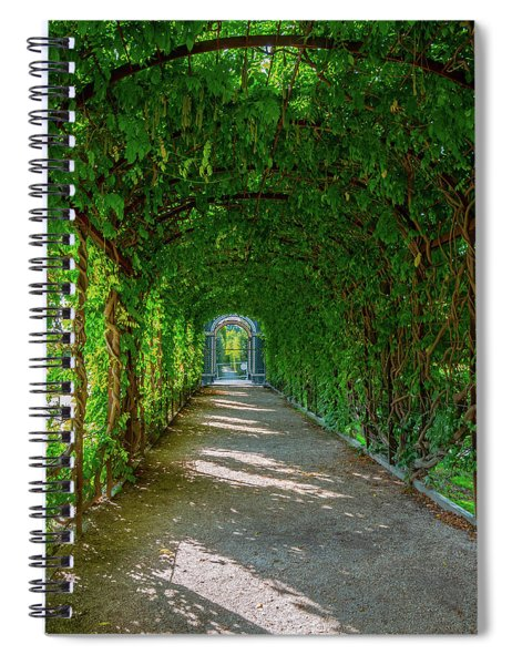 The Alley Of The Ivy Spiral Notebook