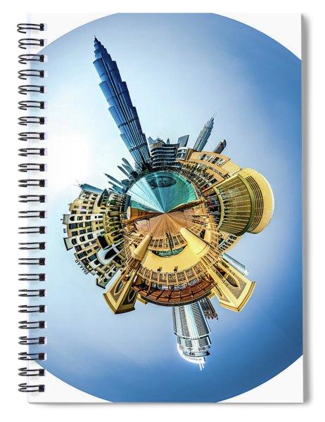 The Amazing Burj Khalifa Spiral Notebook