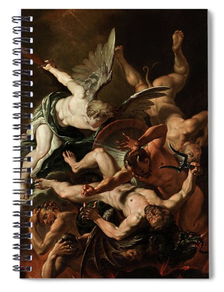 The Archangel Michael Spiral Notebook