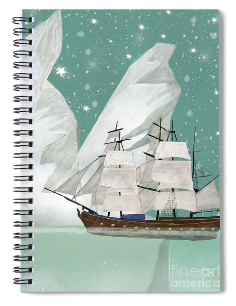 The Arctic Voyage Spiral Notebook
