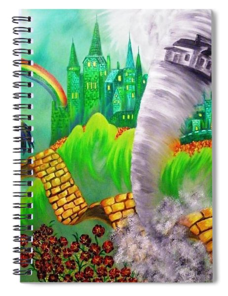 The Arrival Revisited Spiral Notebook