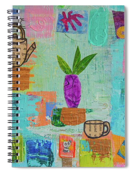 The Art Of Tea Two Spiral Notebook