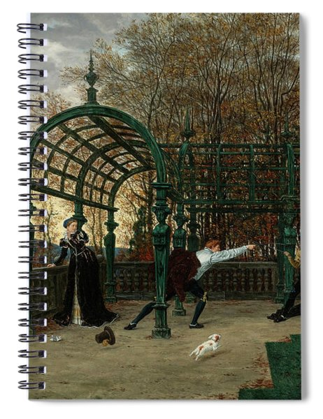 The Attempted Abduction Spiral Notebook