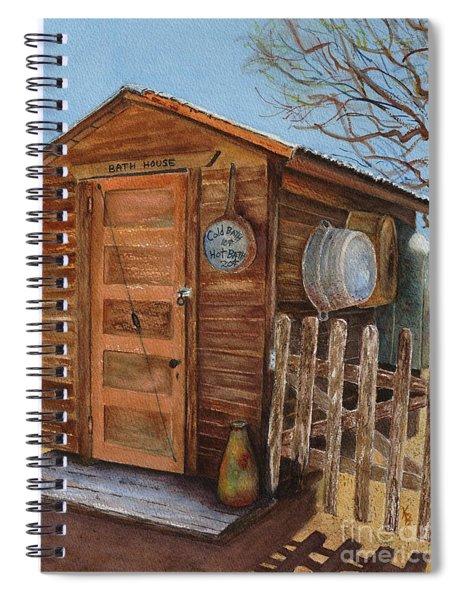 The Bath House Spiral Notebook