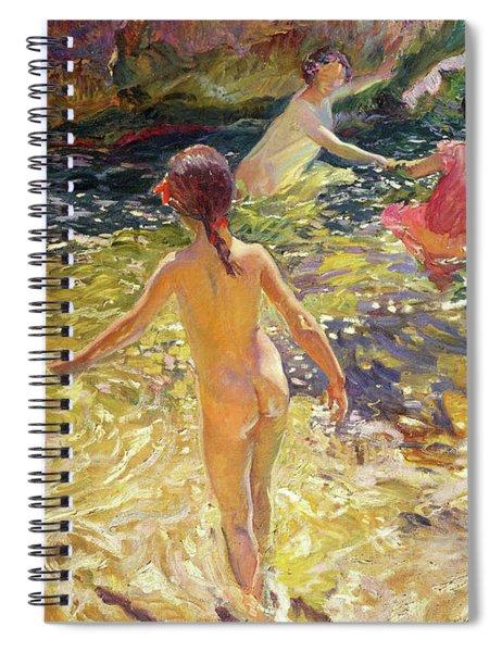The Bath, Javea - Digital Remastered Edition Spiral Notebook