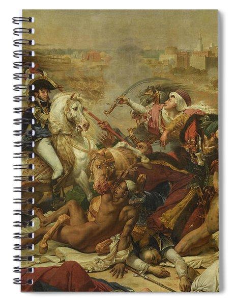 The Battle Of Abukir, 1799 Spiral Notebook