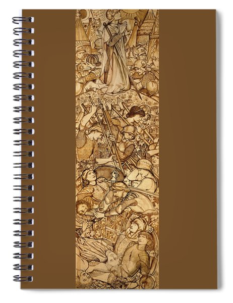 The Battle Of Beth-horon - Digital Remastered Edition Spiral Notebook