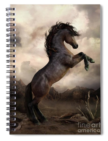 The Bay Horse Spiral Notebook