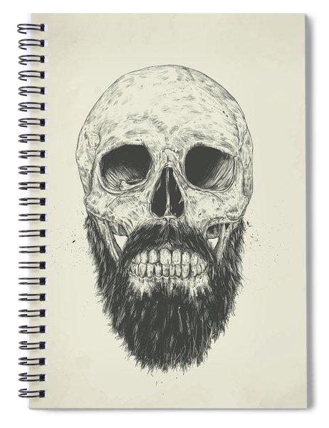 The Beard Is Not Dead Spiral Notebook