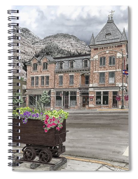 The Beaumont Hotel Spiral Notebook