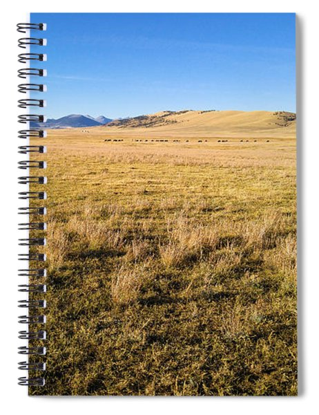 The Beautiful Valley Spiral Notebook