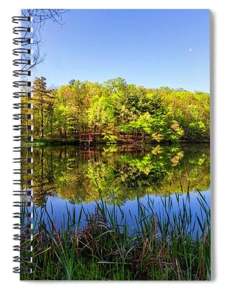 The Beauty Of A Blue Sky Spiral Notebook
