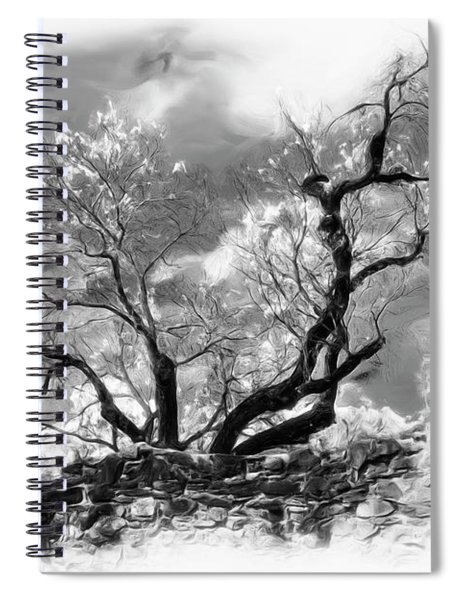 The Beauty Of Mother Nature Spiral Notebook