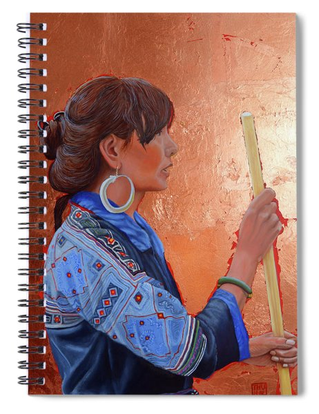 The Black Hmong Princess Spiral Notebook