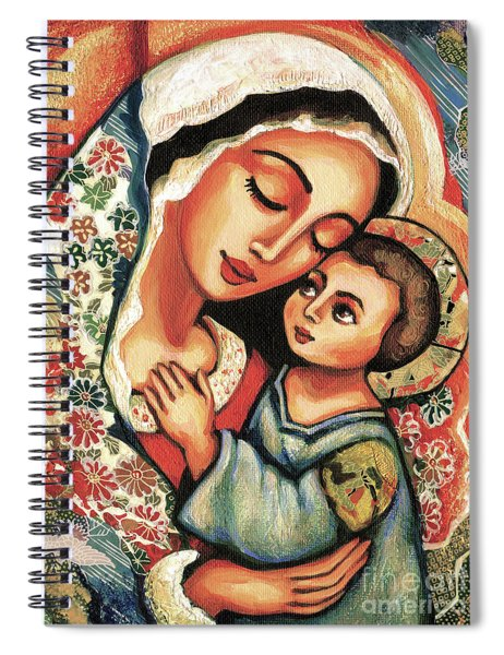 The Blessed Mother Spiral Notebook