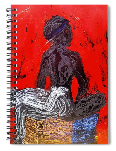 The Blood Hot Fantasy Spiral Notebook