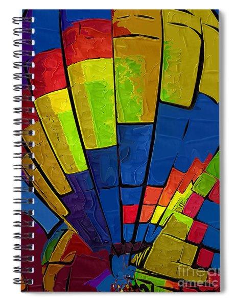 The Blue Balloon Spiral Notebook