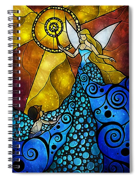 The Blue Fairy Spiral Notebook