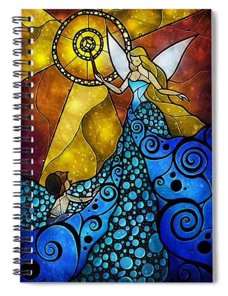 The Blue Fairy Spiral Notebook