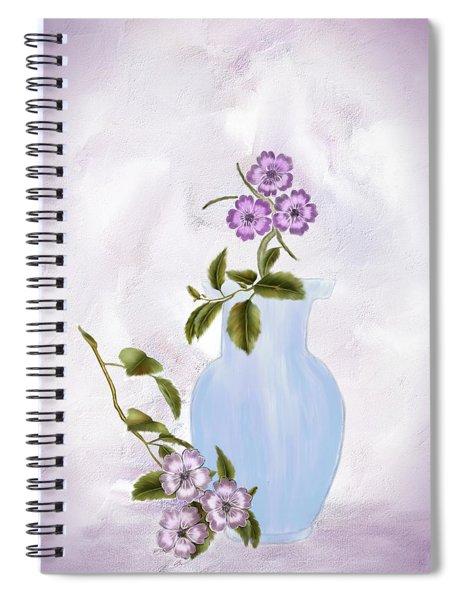 The Blue Vase Spiral Notebook