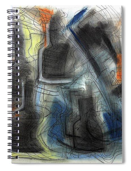 The Bottle Attacks Spiral Notebook