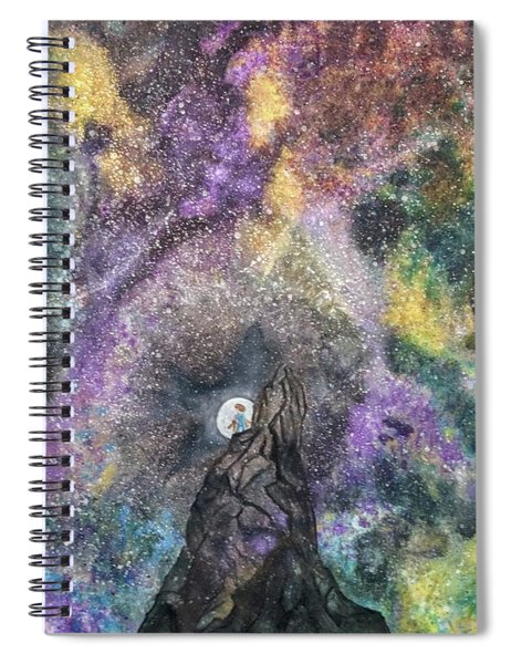 The Boy Who Followed The Moon  Spiral Notebook