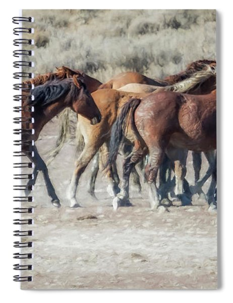 The Boys In The Band, No. 2 Spiral Notebook by Belinda Greb