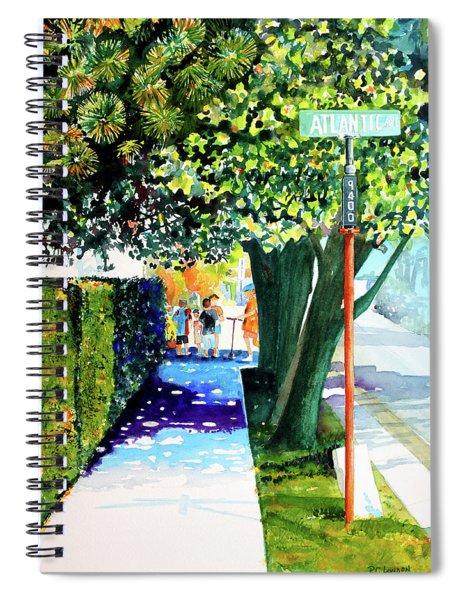 The Boys Of Summer Spiral Notebook