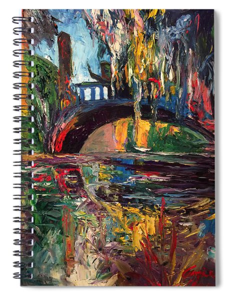The Bridge At City Park New Orleans Spiral Notebook