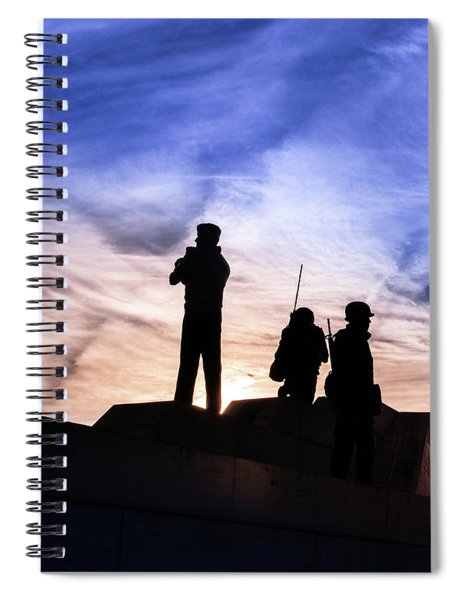 The Canadian Peacekeepers Spiral Notebook