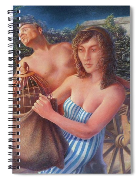 the Canary Spiral Notebook