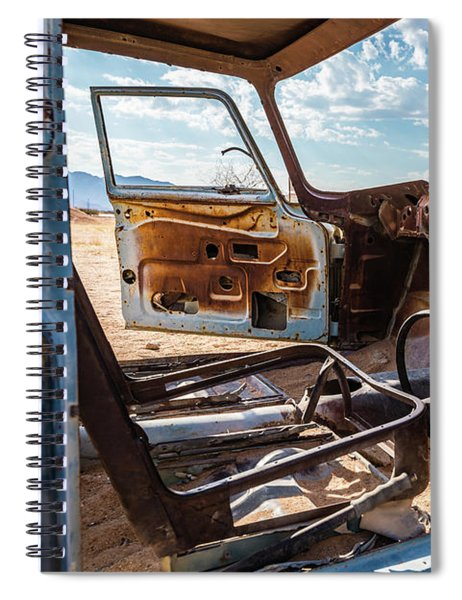 The Car Is Open, Please Come In Spiral Notebook