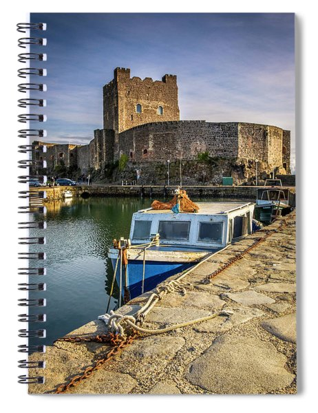The Castle Harbour Spiral Notebook