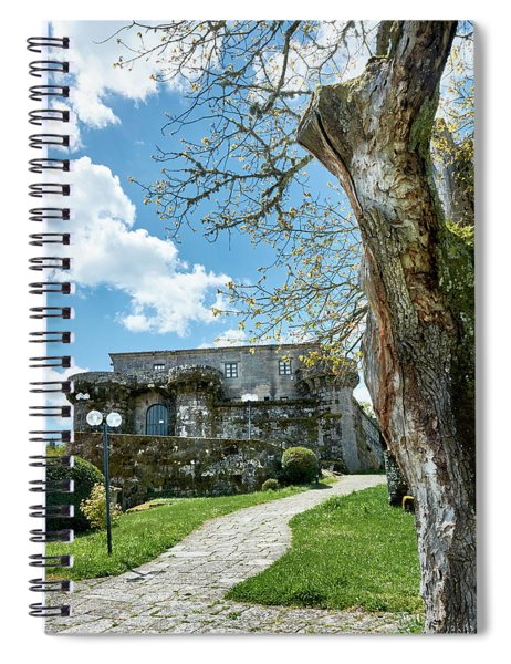 The Castle Of Villamarin Spiral Notebook