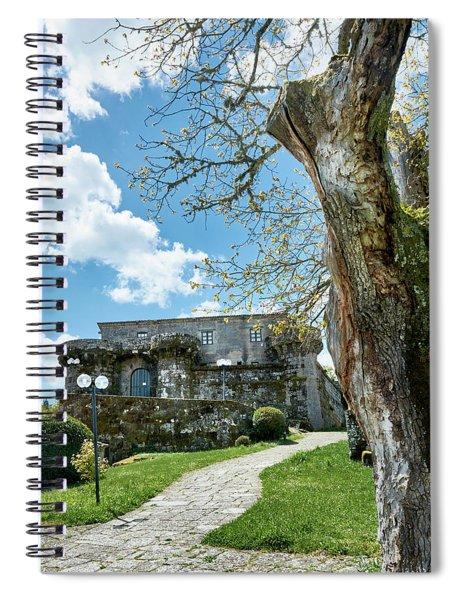 The Castle Of Villamarin Spiral Notebook