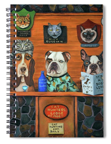 The Cat Hunters Spiral Notebook