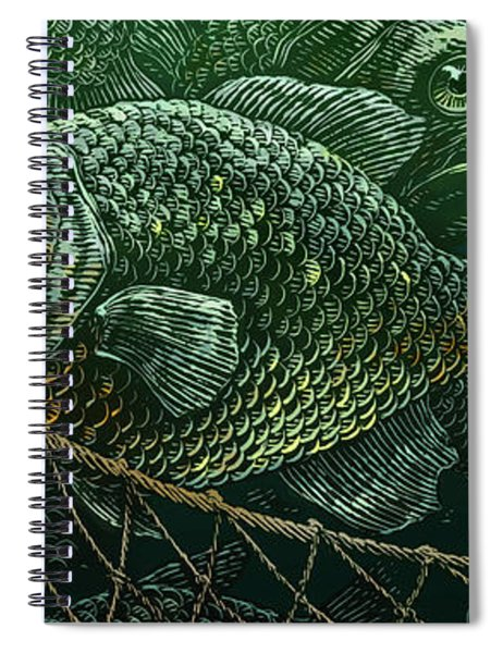 The Catch Spiral Notebook