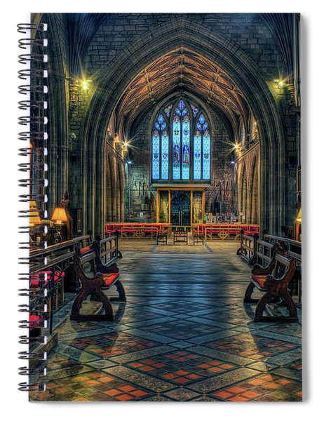 The Cathedral Church Of Saints Asaph And Cyndeym Spiral Notebook