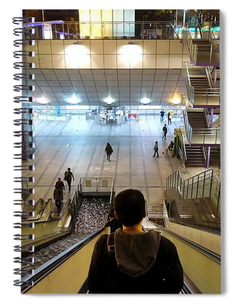 The Central Park Station Of The Kaohsiung Subway Spiral Notebook