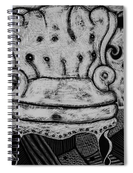 The Chair. Spiral Notebook