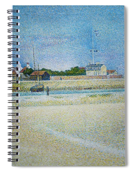 The Channel Of Gravelines Grand Fort Philippe Spiral Notebook