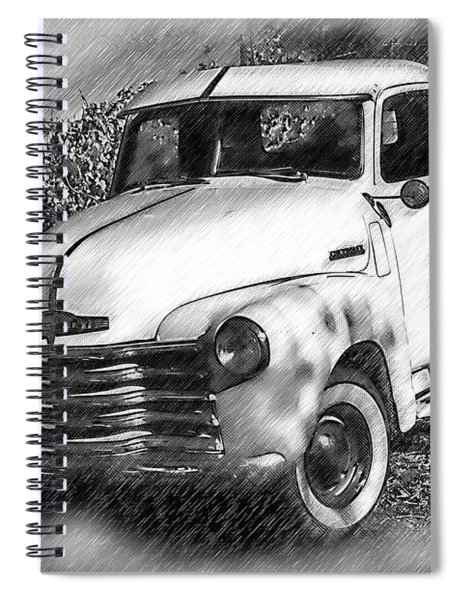 The Chevy Truck Spiral Notebook