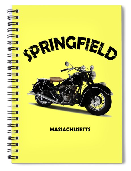 The Chief 1946 Spiral Notebook