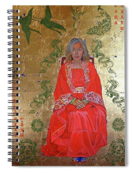 The Chinese Empress Spiral Notebook